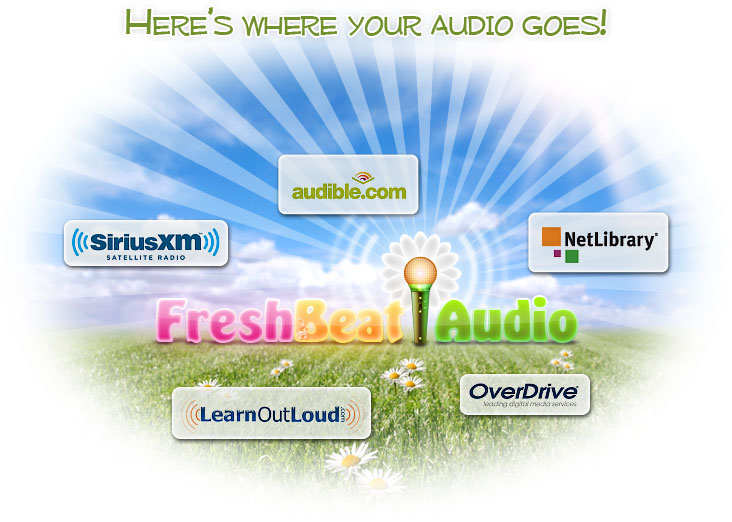 Here's where your audio goes!
